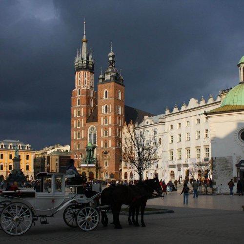 Samochodem po Krakowie