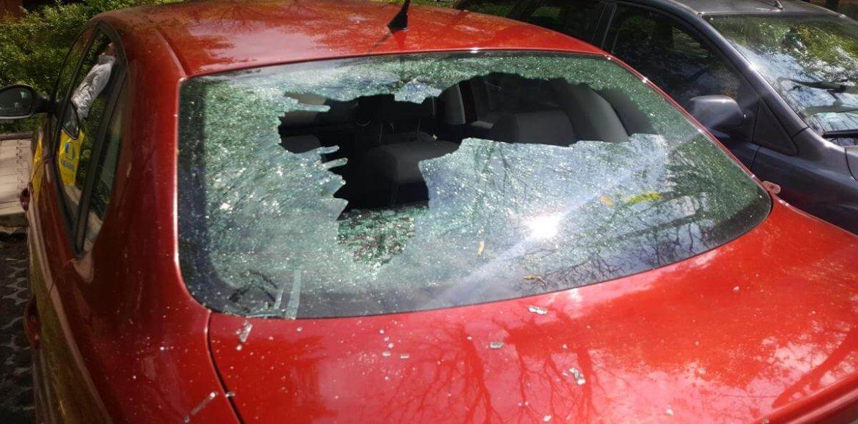 Ustalono sprawcę dewastacji 28 samochodów osobowych w Krakowie