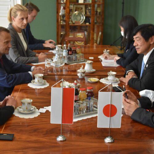Ambasador Japonii z wizytą u Wojewody Małopolskiego