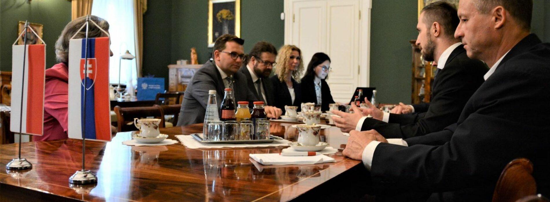 Wizyta dyplomatów ze Słowacji