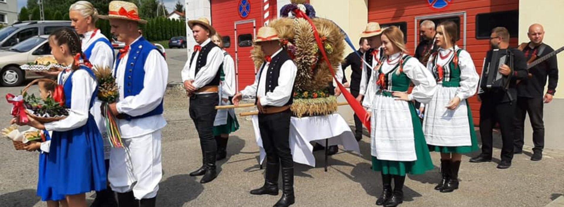 Święto plonów w gminie Rzepiennik Strzyżewski